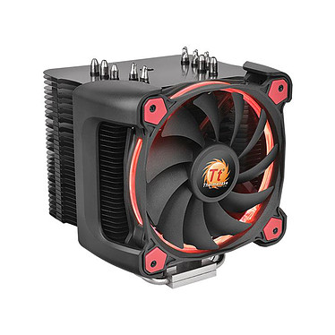 Thermaltake Riing Silent 12 Pro - Rouge