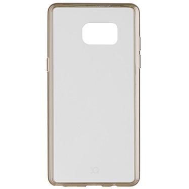 xqisit Coque Odet transparente/grise Galaxy Note 7 Coque de protection pour Samsung Galaxy Note 7