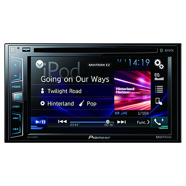 "Pioneer AVH-X2800BT Autoradio CD/DVD écran tactile 6.2"", USB, compatible Bluetooth, Android, iPhone 5/6 et AppRadio"