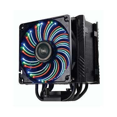 Enermax ETS-T50A-BVT Ventilateur processeur à LEDs RGB(pour socket Intel 775/1150/1151/1155/1156/1366/2011/2011-3/2066 et AMD AM2/AM2+/AM3/AM3 /FM1/FM2/FM2 )