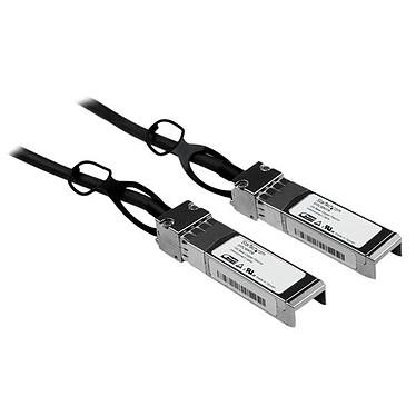 StarTech.com SFPCMM5M Câble réseau passif SFP+ 10 GbE à connexion directe twinax en cuivre compatible Cisco (5 mètres)
