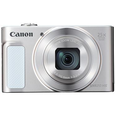 """Canon PowerShot SX620 HS Argent Appareil photo 20.2 MP - Zoom optique 25x - Vidéo Full HD - micro HDMI - Ecran LCD 3"""" - Wi-Fi et NFC"""