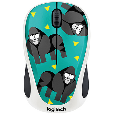 Logitech M238 Wireless Mouse (Gorille)