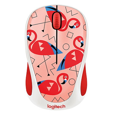 Logitech M238 Wireless Mouse (Flamant)