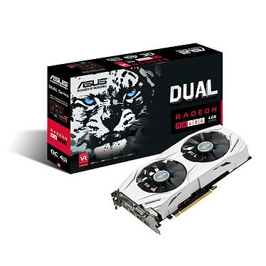ASUS Dual-RX480-O4G - AMD Radeon RX 480 4 Go 4 Go HDMI/Tri-DisplayPort - PCI Express (AMD Radeon RX 480)