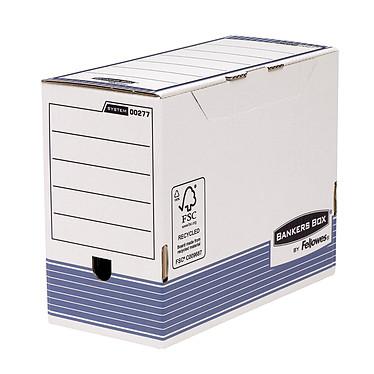 Fellowes System A4 Boîte d'archives 150mm Bleu x 10