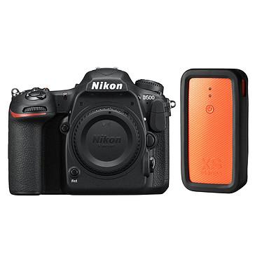 Nikon D500 + XSories Weye Feye Share Appareil photo 20.9 MP - Vidéo 4K Ultra HD - Écran tactile inclinable - Wi-Fi - Bluetooth - SnapBridge (boîtier nu) + Système de commande Wi-Fi