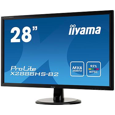 """Avis iiyama 28"""" LED - ProLite X2888HS-B2"""