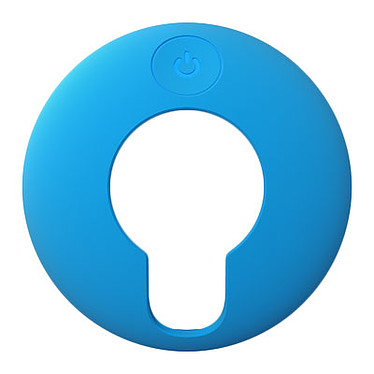 TomTom Coque de protection VIO Bleu ciel Coque de protection en silicone pour GPS TomTom VIO