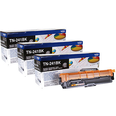 Brother TN-241BK x 3