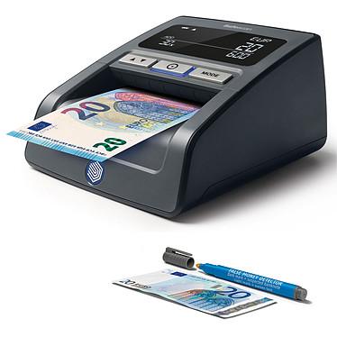 Safescan Détecteur de faux billets 155-S Noir + Safescan 30 OFFERT !