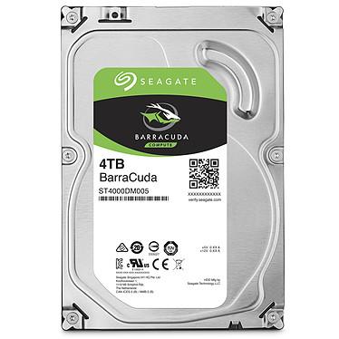 """Seagate BarraCuda 4 To (ST4000DM005) Disque dur 3.5"""" 4 To 5900 RPM 64 Mo Serial ATA 6 Gb/s (bulk)"""