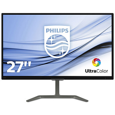 "Philips 27"" LED - 276E7QDAB 1920 x 1080 pixels - 5 ms (gris à gris) - Format large 16/9 - Dalle IPS - HDMI - MHL - Noir"