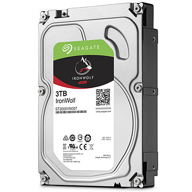 Acheter Seagate IronWolf 3 To