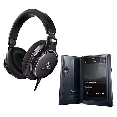 Astell&Kern AK300 + Audio-Technica ATH-MSR7NC