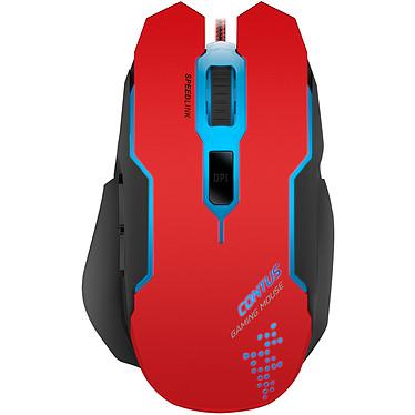 Speedlink Contus Ratón para videojugador con cable - para diestros - Sensor óptico de 3200 dpi - 5 botones - Luz de fondo de 7 colores