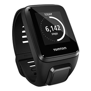 TomTom Spark 3 bracelet large Noir Montre de fitness étanche avec GPS et Bluetooth