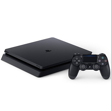 Avis Sony PlayStation 4 Slim (500 Go) - Jet Black