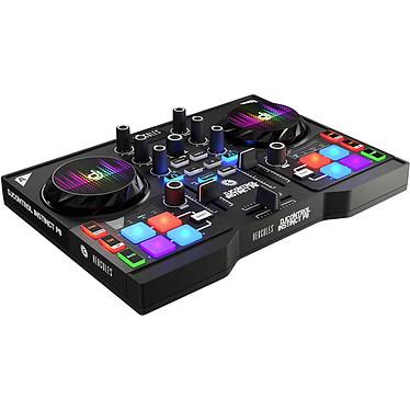 Hercules DJControl Instinct P8 Consola para DJ 2 giradiscos 8 pads con tarjeta de sonido integrada