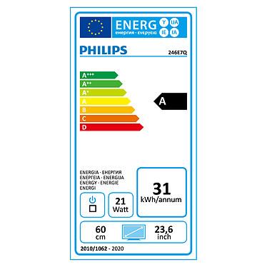 "Philips 24"" LED - 246E7QDAB pas cher"