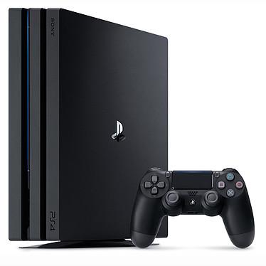 Sony PlayStation 4 Pro (1 To) Noir Console Ultra HD 4K avec disque dur 1 To et manette sans fil