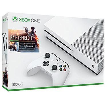 Microsoft Xbox One S (500 Go) + Battlefield 1