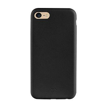 xqisit Coque iPlate Gimone Overmold Noir Apple iPhone 7