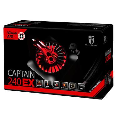 Deepcool Gamer Storm Captain 240EX V2 (Noir) pas cher