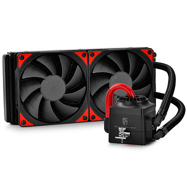 Deepcool Gamer Storm Captain 240EX (Noir/Rouge)