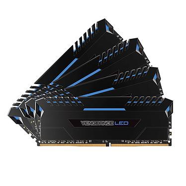Corsair Vengeance LED Series 64 Go (4x 16 Go) DDR4 3000 MHz CL15 - Bleu