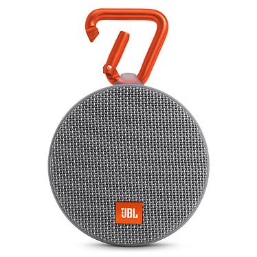 JBL Clip 2 Gris Enceinte portable étanche avec Bluetooth et mousqueton intégré