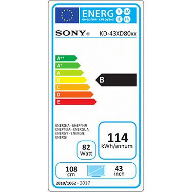 Sony KD-43XD8005 pas cher