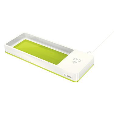 Leitz WOW Dual Plumier avec chargeur à induction Vert