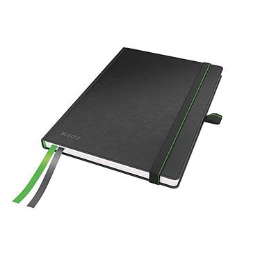 Leitz Complete A4 quadrillé Noir Cahier avec couverture rigide A4 160 pages petits carreaux