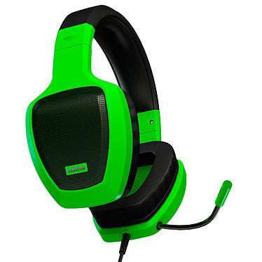 Ozone Rage Z50 Glow (vert) Casque gaming - circum-aural fermé - son stéréo 2.0 - microphone omnidirectionnel rétractable - Jack/Mini-Jack