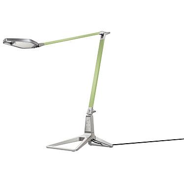 Leitz Style Lampe de bureau intelligente LED Verte Lampe de bureau LED avec double articulation et port USB