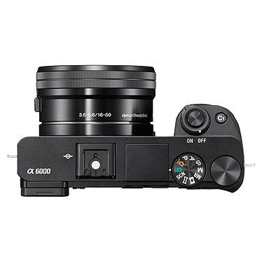 Sony Alpha 6000 + Objectifs 16-50 mm & 55-210 mm Noir pas cher