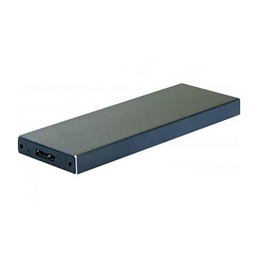 Carcasa USB 3.0 externa SSD SATA M.2 Carcasa USB 3.0 externa autoalimentada de aluminio para SSD SATA M.2