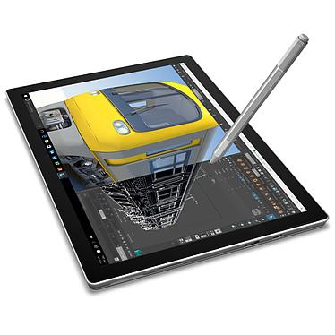 Microsoft Surface Pro 4 - m3-6Y30 - 4 Go - 128 Go avec clavier Type Cover AZERTY Noir pas cher