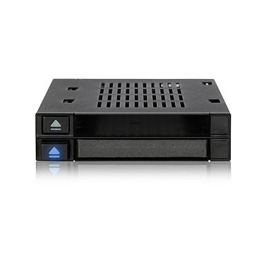 """ICY DOCK FlexiDOCK MB522SP-B Doble SAS / SATA HDD / SSD 2.5"""" rack para una bahía de unidad externa de 3.5""""."""