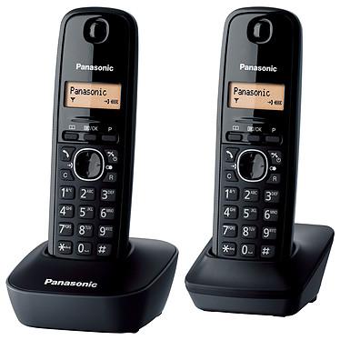 Panasonic KX-TG1612FR Duo Noir
