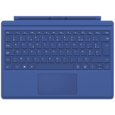 Microsoft Type Cover Surface Pro 4 Bleu