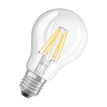 OSRAM Ampoule LED Retrofit Classic E27 6W (60W) A++ Ampoule LED culot E27 filament 6W (60W) 2700K Blanc Chaud