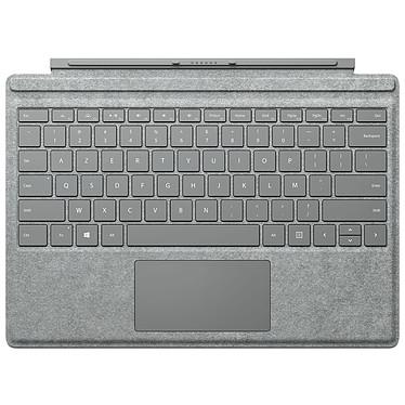 Microsoft Type Cover Surface Pro 4 Gris Alcantara