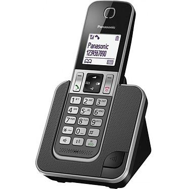 Panasonic KX-TGD310FRG Solo Gris Téléphone DECT sans fil (version française)
