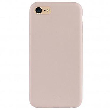 xqisit Coque iPlate Gimone Overmold Beige Apple iPhone 7