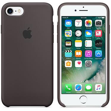 Apple Coque en silicone Cacao Apple iPhone 7  Coque en silicone pour Apple iPhone 7
