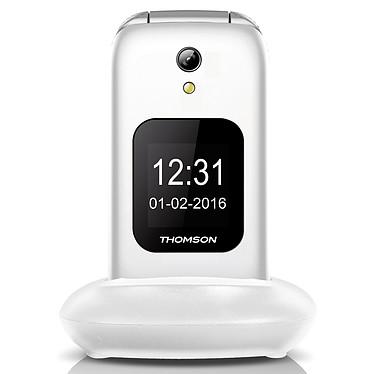 "Thomson Serea 66 Blanc Téléphone 2G - Ecran 2.4"" 240 x 320 - Bluetooth - 1000 mAh"