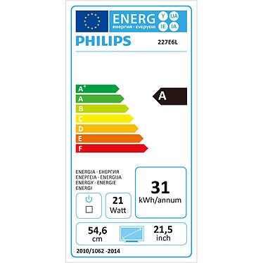 """Acheter Philips 21.5"""" LED - 227E6LDSD"""