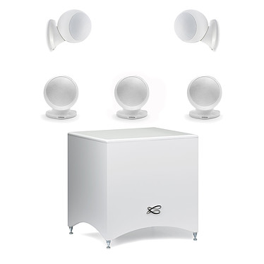 Pioneer VSX-831B + Cabasse Alcyone 2 Pack 5.1 Blanc pas cher